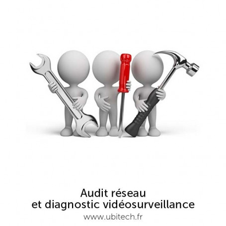 Audit vidéosurveillance à distance