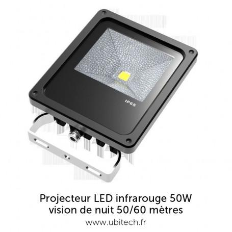 Projecteur LED InfraRouge 50/60 mètres