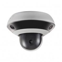 Caméra PanoVu 3 objectifs 2MP + PTZ Hikvision DS-2PT3326IZ-DE3 H265+ IR 10 mètres
