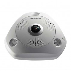 Caméra IP Hikvision DS-2CD63C5G0-IVS Fisheye 360° Ultra HD 12MP PoE