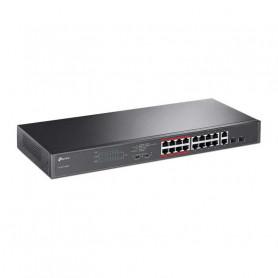 Switch PoE TP-LINK TL-SL1218MP rackable 16 ports compatibles PoE+