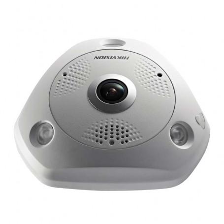Caméra IP HIKVISION DS-2CD63C2F-IVS Fisheye 360° Full HD 12MP PoE
