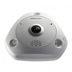Caméra IP Hikvision DS-2CD63C5G0E-IVS Fisheye 360° Ultra HD 12MP PoE