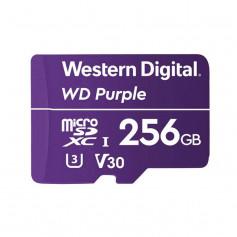 Carte MicroSD Western Digital Purple 256GB spéciale vidéosurveillance