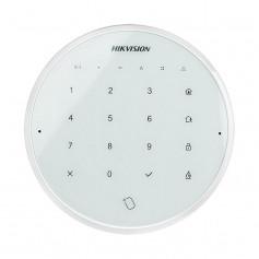Hikvision DS-PKA-WLM-868 clavier et lecteur de badge sans fil blanc pour alarme Hikvision AX Hub