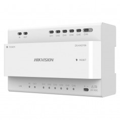 Distributeur IP 2 fils Hikvision DS-KAD706 pour portier vidéo modulable 2 fils