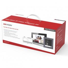 Kit interphone vidéo couleur 2 fils Hikvision DS-KIS702