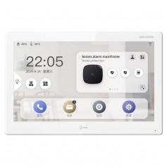 """Écran de contrôle tactile WI-FI 10.1"""" Hikvision DS-KH9510-WTE1 pour interphone, alarme, NVR et caméras Hikvision"""
