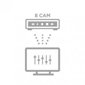 Configuration à distance NVR 8 caméras