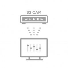 Configuration à distance NVR 32 caméras