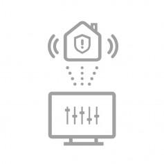 Configuration à distance alarme sans fil Hikvision