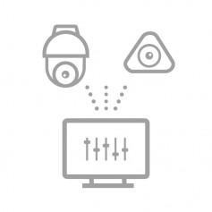 Configuration à distance caméra PTZ ou fisheye Hikvision