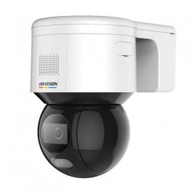 Caméra de surveillance rotative ColorVu et AcuSense 4MP H265+ micro intégré Hikvision DS-2DE3A400BW-DE