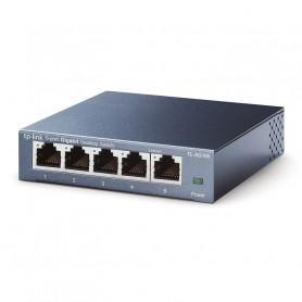 Switch Gigabit 5 ports avec boîtier métal TP-Link TL-SG105