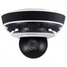 Caméra PanoVu 4 objectifs 2MP H265 dont 1 PTZ zoom x 10 Hikvision DS-2PT5326IZ-DE