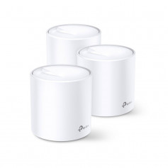 Système Mesh WiFi 6 de 3 Gigabit couverture 650m² TP-Link DECO X60 (pack de 3)