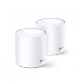 Système Mesh WiFi 6 de 3 Gigabit couverture 450m² TP-Link DECO X60 (pack de 2)