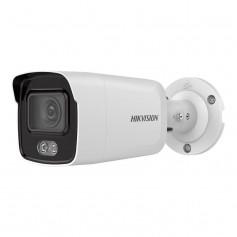 Caméra 4K H265+ ColorVu vision couleur de nuit micro intégré et AcuSense 2.0 Hikvision DS-2CD2087G2-LU