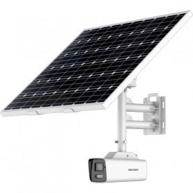 Caméra 4K solaire sur batterie avec connexion 4G AcuSense et ColorVu Hikvision DS-2XS6A87G1-L/C32S80