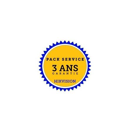 Hikvision garantie 3 ans par échange standard en 24h