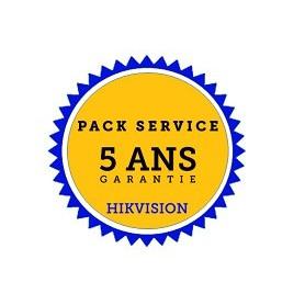 HIKVISION garantie étendue 5 ans par échange standard en 24h