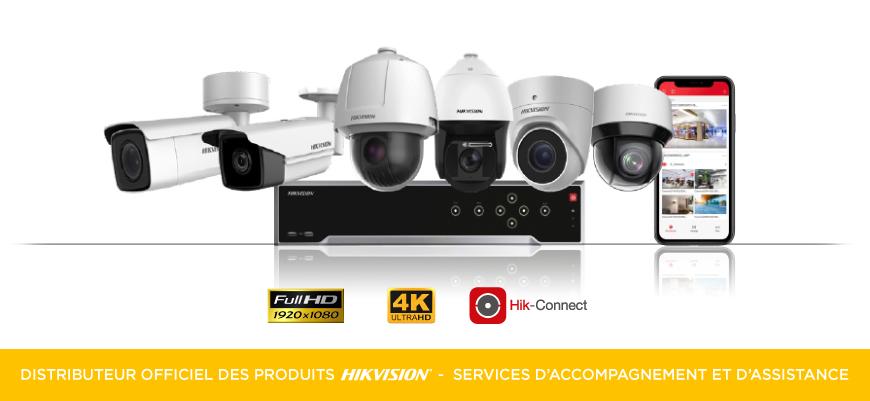 Kit de vidéo surveillance Hikvision