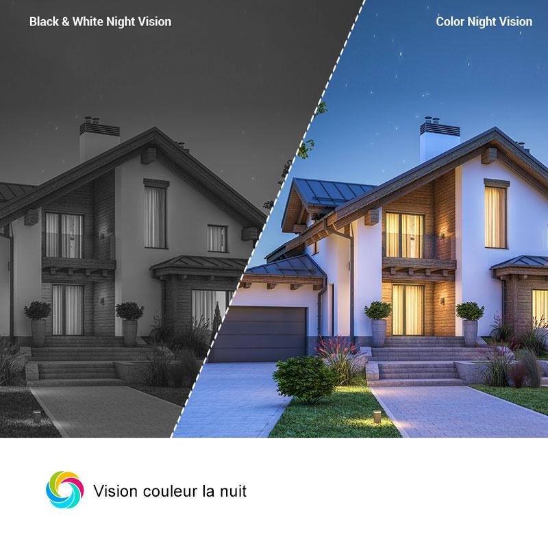 C3W Pro vision couleur de nuit