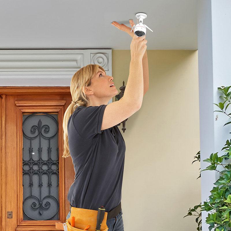 EZVIZ C3W PRO installation interieur