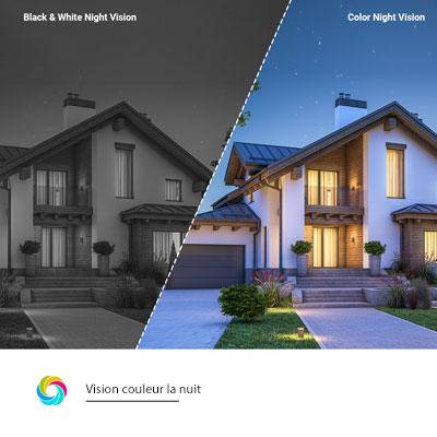 EZVIZ C8C vision couleur la nuit