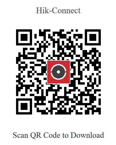 QR Code Hik-Connect