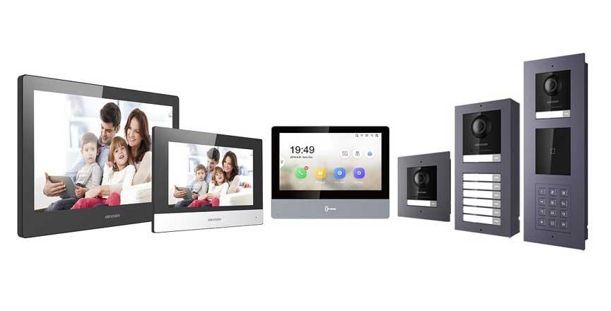 Système modulable de portier vidéo Hikvision