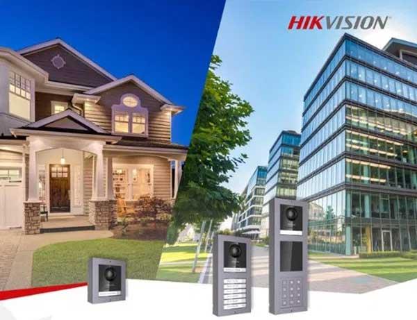 Interphone vidéo connecté Hikvision