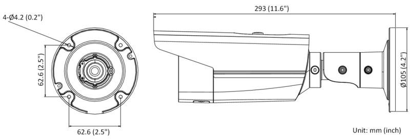 Schéma DS-2CD2T43G2-4I