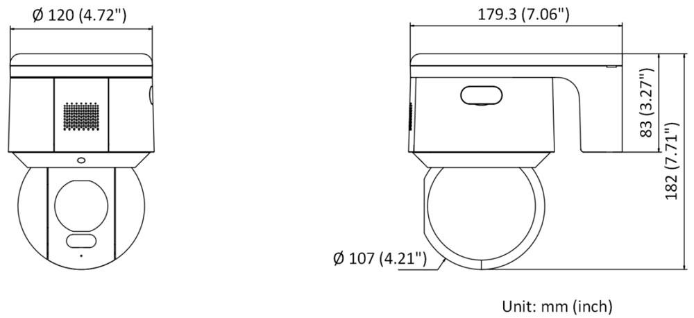 Schema DS-2DE3A400BW-DE
