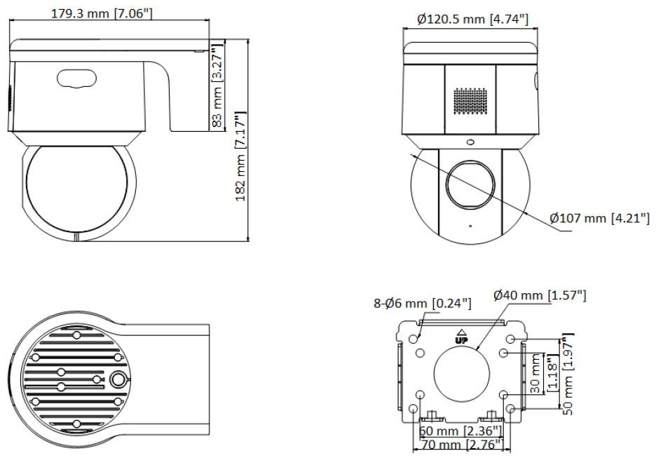 Schema DS-2DE3A404IW-DE/W