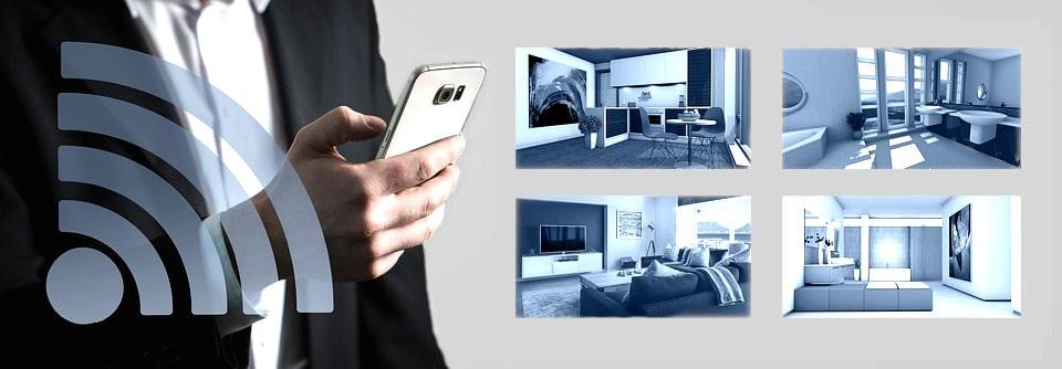 Caméra de surveillance Wifi sans fil
