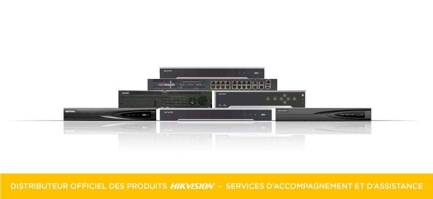 Enregistreur vidéo (NVR) pour caméras IP